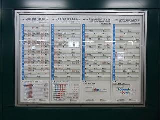 JR九州の時刻表(その1)